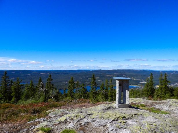 Utsikten fra Paradiskollen - Oslomarka - Romeriksåsen - Fantastiske marka