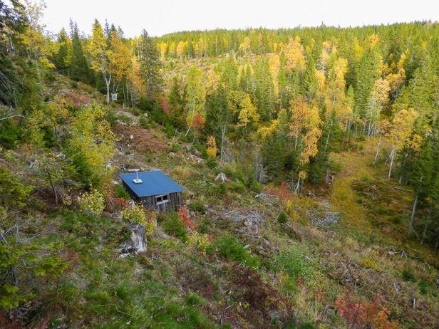 Milorg hytta Roligheten på Krokskogen - Oslomarka - Krokskogen - Fantastiske marka