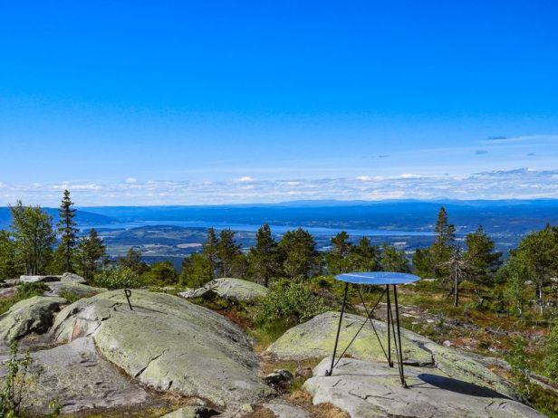 Utsikt fra Ringkolltoppen - Oslomarka - Krokskogen - Fantastiske marka