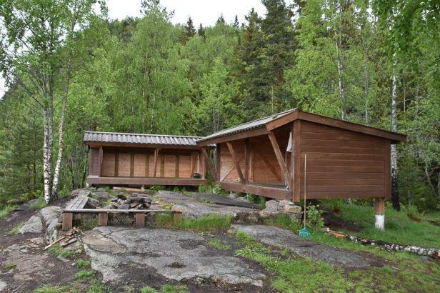 Gapahuken Kikkut på Eineåsen - Oslomarka - Krokskogen - Fantastiske marka