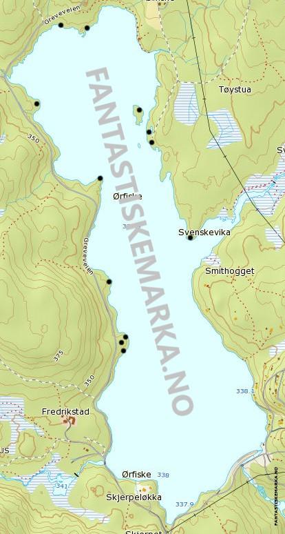 Leirplasser - Ørfiske - Oslomarka - Nordmarka - Fantastiske marka