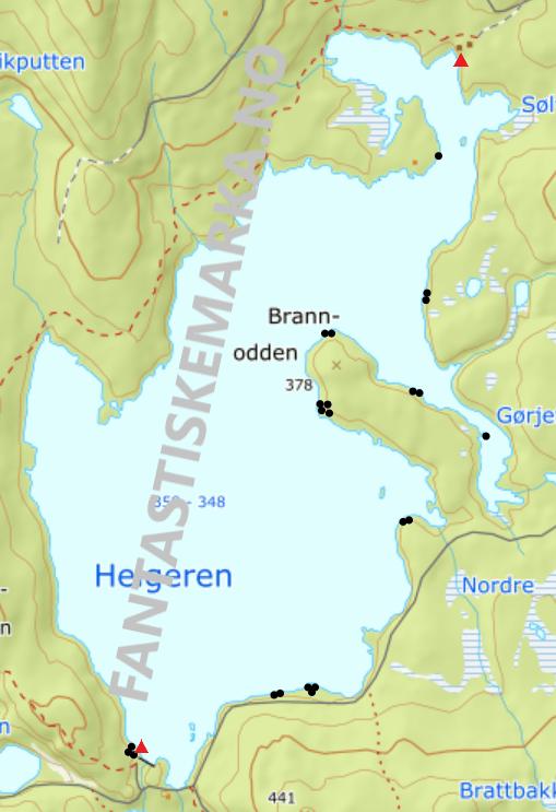 Leirplasser - Helgeren - Oslomarka - Nordmarka - Fantastiske marka