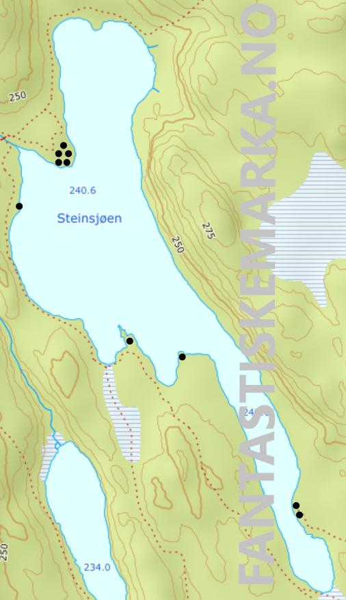 Leirplasser ved Steinsjøen i Østmarka - Oslomarka - Fantastiske marka