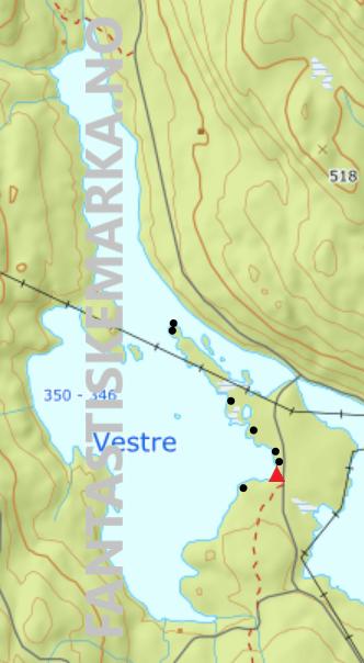 Leirplasser - Vestre Fyllingen - Oslomarka - Nordmarka - Fantastiske marka
