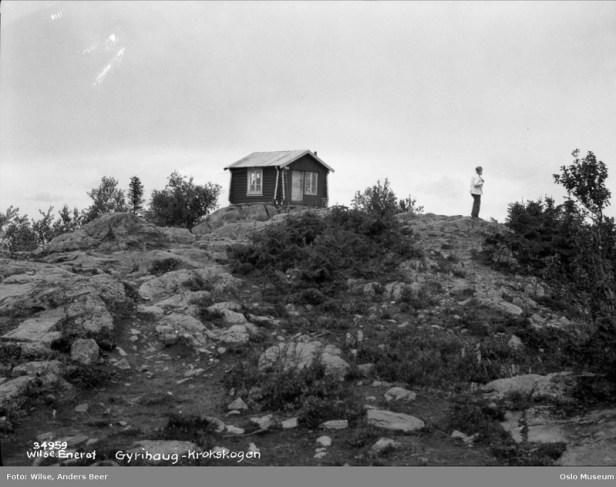 Oslo Museum - Brannvakthytta på Gyrihaugen - Anders Beer Wilse - 1928