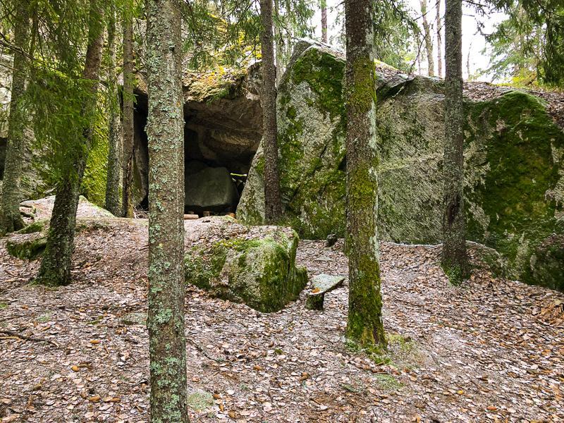Trollkjerka ved Grønmo - Østmarka - Oslomarka - Fantastiske marka
