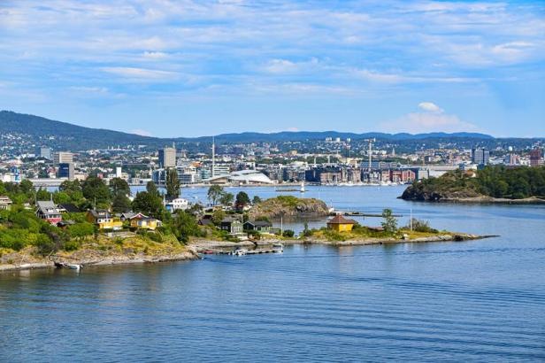 Fantastisk utsikt over Oslo fra Gressholmen - Topper - Utsikt - Oslo - Fantastiske marka