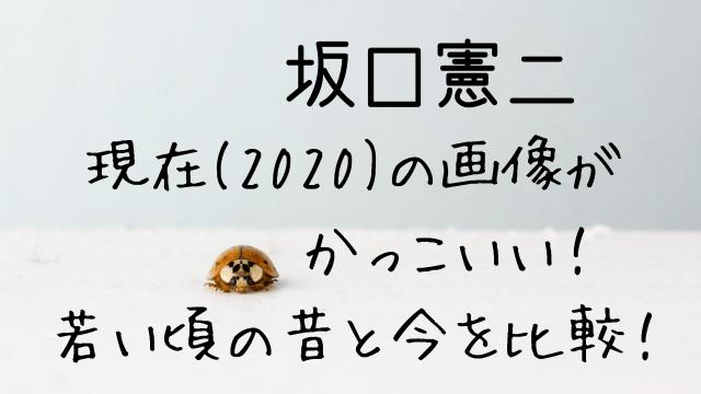 坂口憲二現在(2020)の画像がかっこいい!若い頃の昔と今を比較!