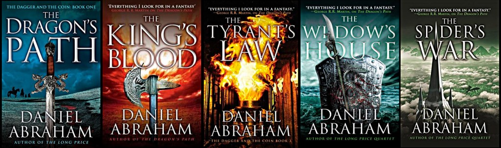 The Dagger and the Coin quintet by Daniel Abraham