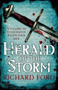 Herald of the Storm (Steelhaven, #1) by Richard Ford