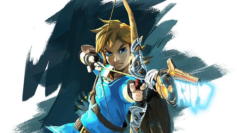 Zelda: Breath of the Wild Link