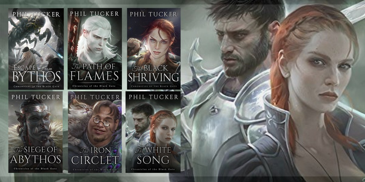 The Chronicles of the Black Gate by Phil Tucker