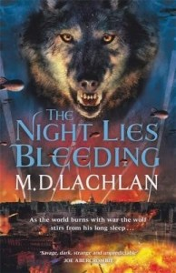 The Night Lies Bleeding by M.D. Lachlan