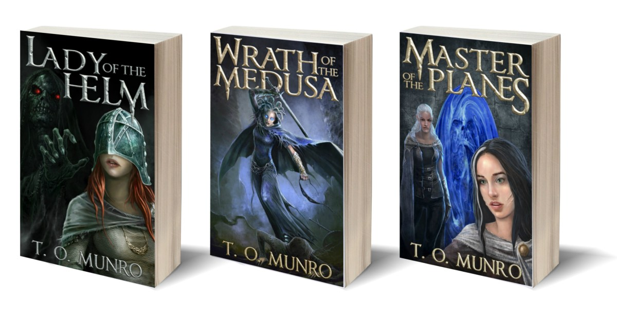 The Bloodline trilogy by T.O. Munro