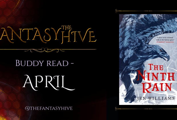 The Ninth Rain by Jen Williams (Hive Reads)