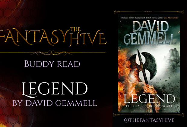 Legend by David Gemmell on the Fantasy Hive