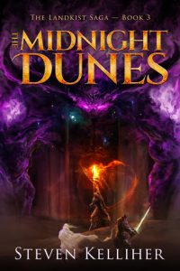 The Midnight Dunes (Landkist Saga) by Steven Kelliher