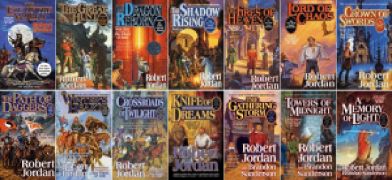 The Wheel of Time (All Covers) by Robert Jordan