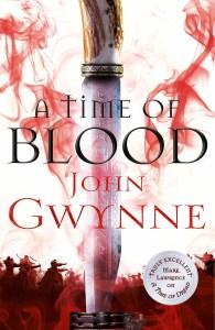 A Time of Blood (Blood and Bone) by John Gwynne