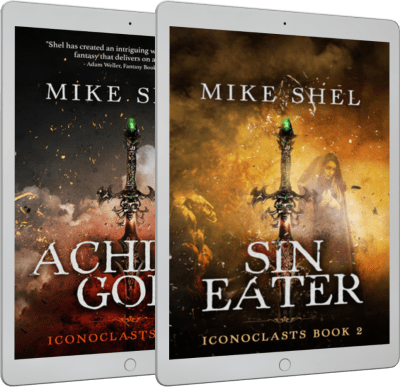 Aching God and Sin Eater (Iconoclasts) by Mike Shel
