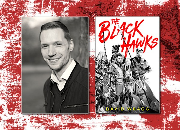 David Wragg, author of THE BLACK HAWKS