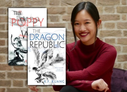 R.F. Kuang, author of The Poppy War and The Dragon Republic