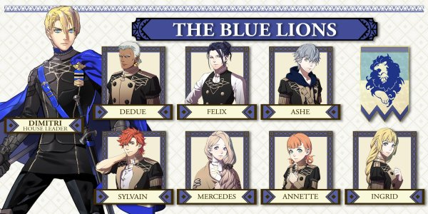 Fire Emblem: Three Houses (Blue Lions)