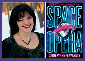 Catherynne M. Valente, author of SPACE OPERA