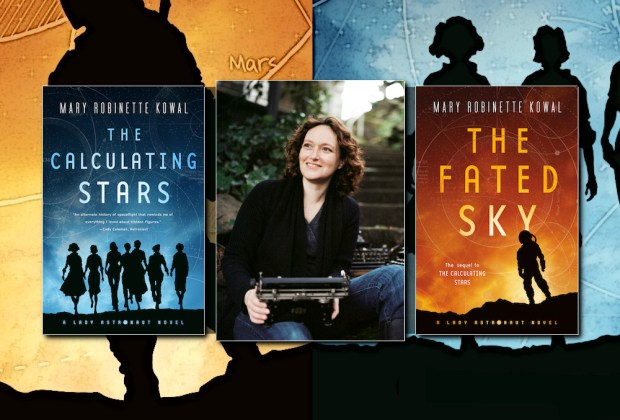 Mary Robinette Kowal, author of the Lady Astronaut series