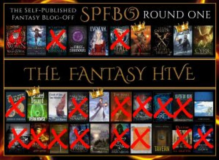 SPFBO 5 on the Fantasy Hive - eliminations and semi-finalists