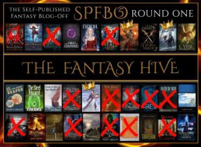 SPFBO 5 on the Fantasy Hive - eliminations and semi-finalists