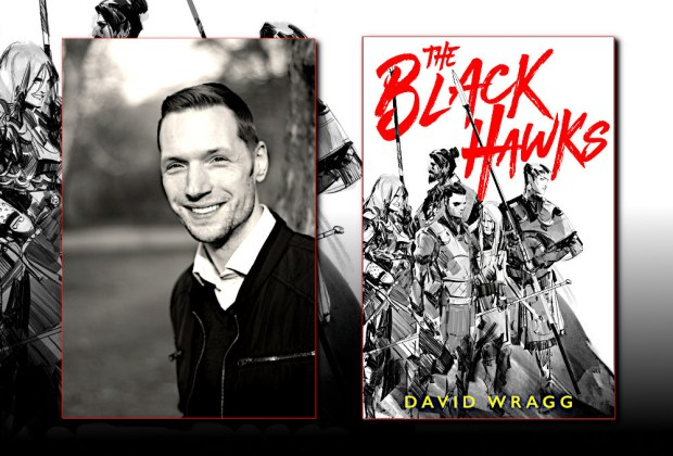 David Wragg, author of THE BLACK HAWKS