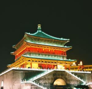 Xian, Xian Tourism, China, China Touring, Bell Tower