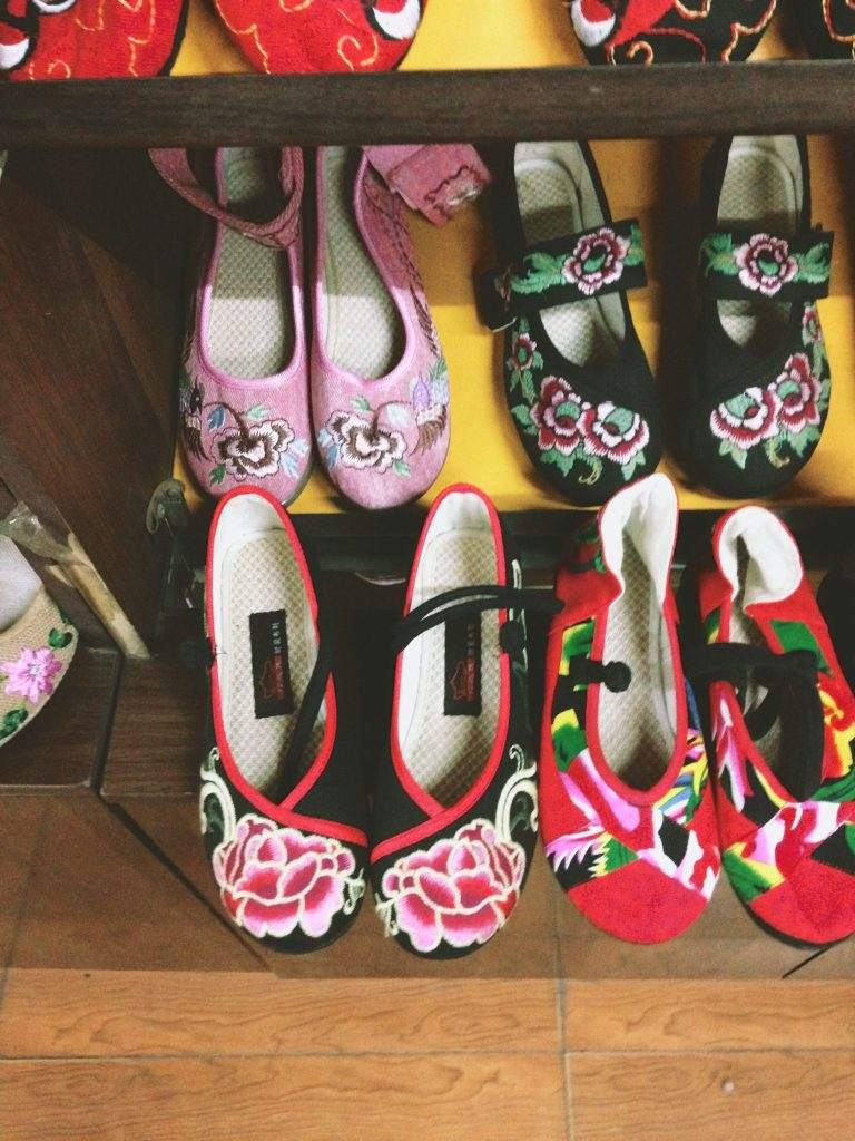 Locals shoes made here and I really wanted to buy but no big girl sizes here (probably for the best)