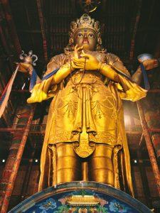 Ulaan Baatar, Mongolia, Mongolia Tourism, gold Buddha
