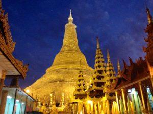 Yangon, Myanmar, Burma, Myanmar Tourism, gold pagoda