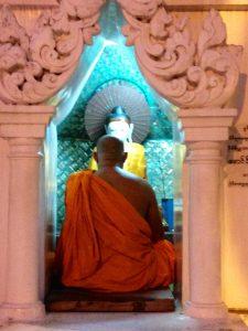 Yangon, Myanmar, Burma, Myanmar Tourism, Buddhist Monk