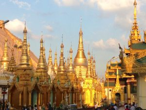 Yangon, Myanmar, Burma, Myanmar Tourism, Myanmar Temples, Gold temples