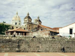 Old church towers, Cartagena, Colombia, Fantasy Aisle travel
