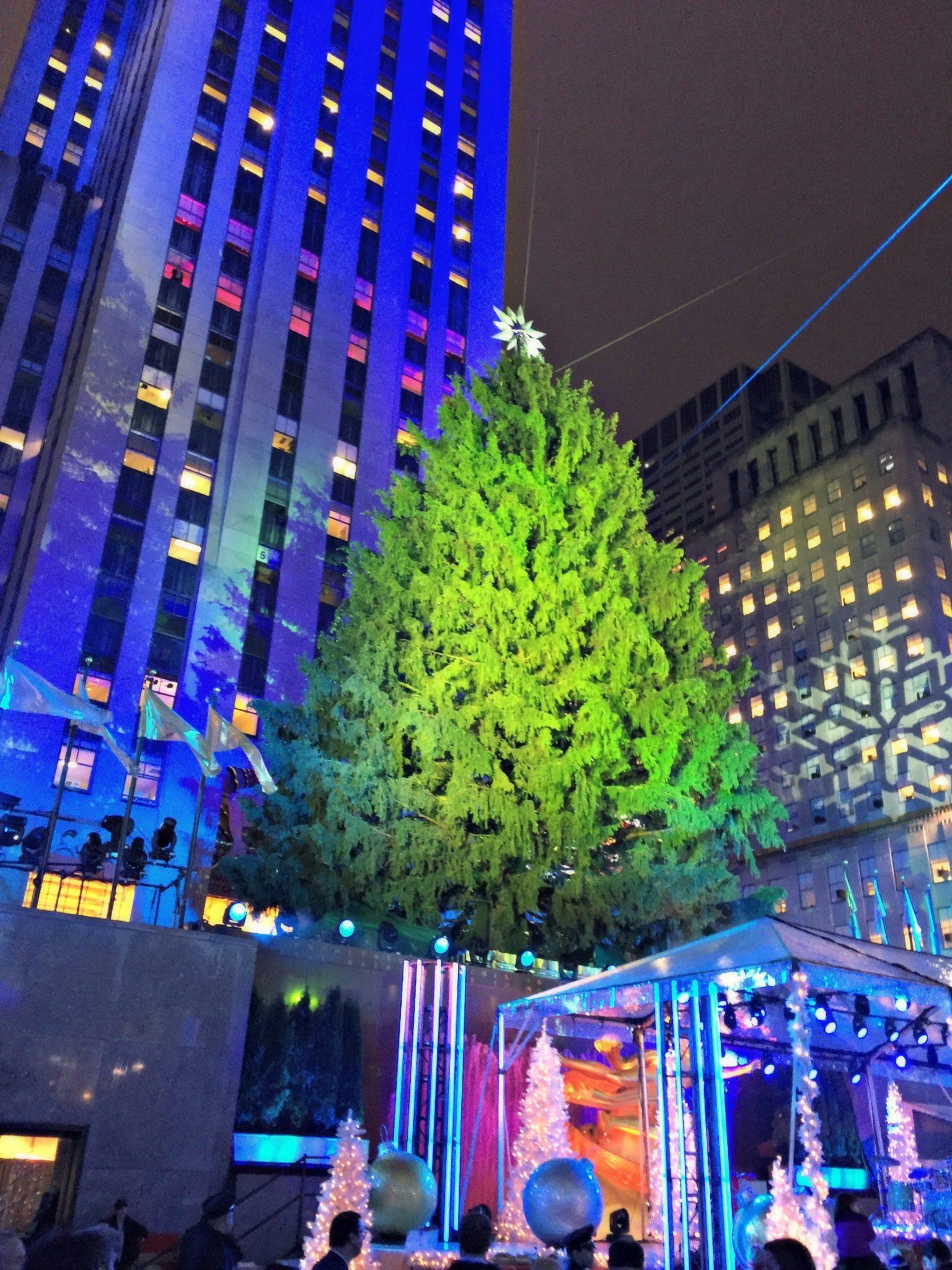 The Tree Lighting At Rockefeller Center
