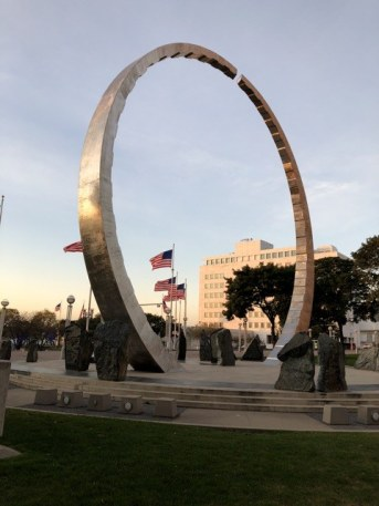 Fantasy Aisle, Transcending monument to the Labor Movement at Hart Plaza