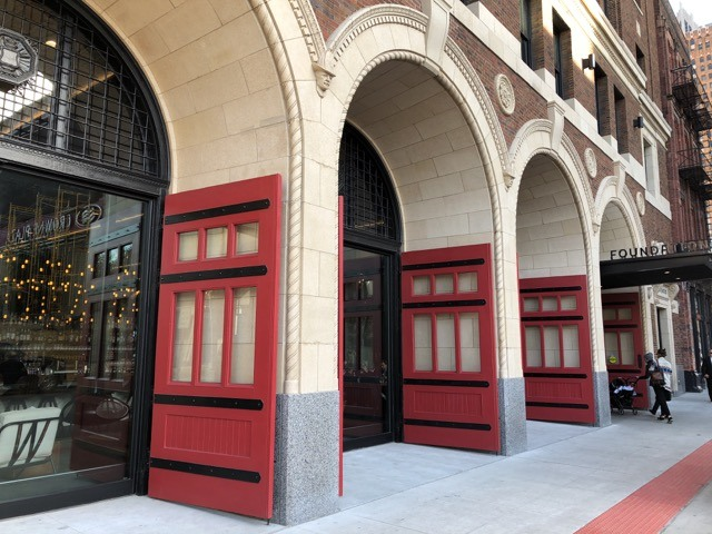 Fantasy Aisle, Detroit Foundation Hotel, a former firehouse now boutique hotel