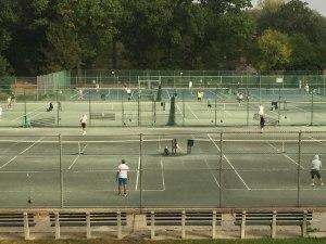 Fantasy Aisle, Central Park Tennis Courts