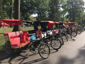 Fantasy Aisle, Tired feet? A bike carriage awaits
