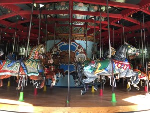 Fantasy Aisle, Merry go Round for kids and adults in Central Park