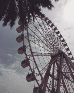 Fantasy Aisle, Ferris Wheel at the Port of Málaga, Spain