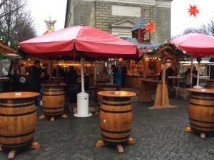 Fantasy Aisle, Christmas Market in Mannheim, Germany