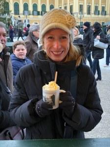 Fantasy Aisle, Eggnog liquor at the Vienna Christmas markets