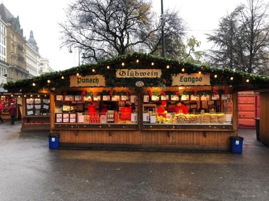 Fantasy Aisle, Eat, Drink and Be Merry in Vienna, Austria. Rathausplatz, City Hall