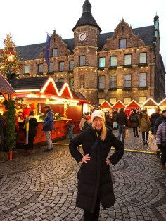 Fantasy Aisle, Marktplatz Christmas Market in Düsseldorf, Germany